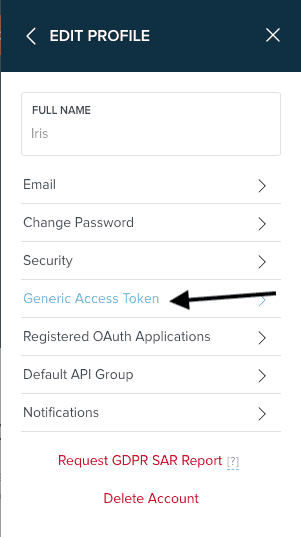 How do I find my Bitly OAuth access token? 2