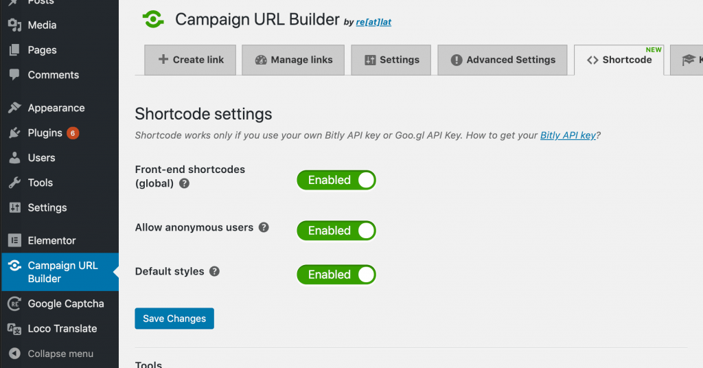 Campaign URL Builder: Introducing the Shortcodes 1